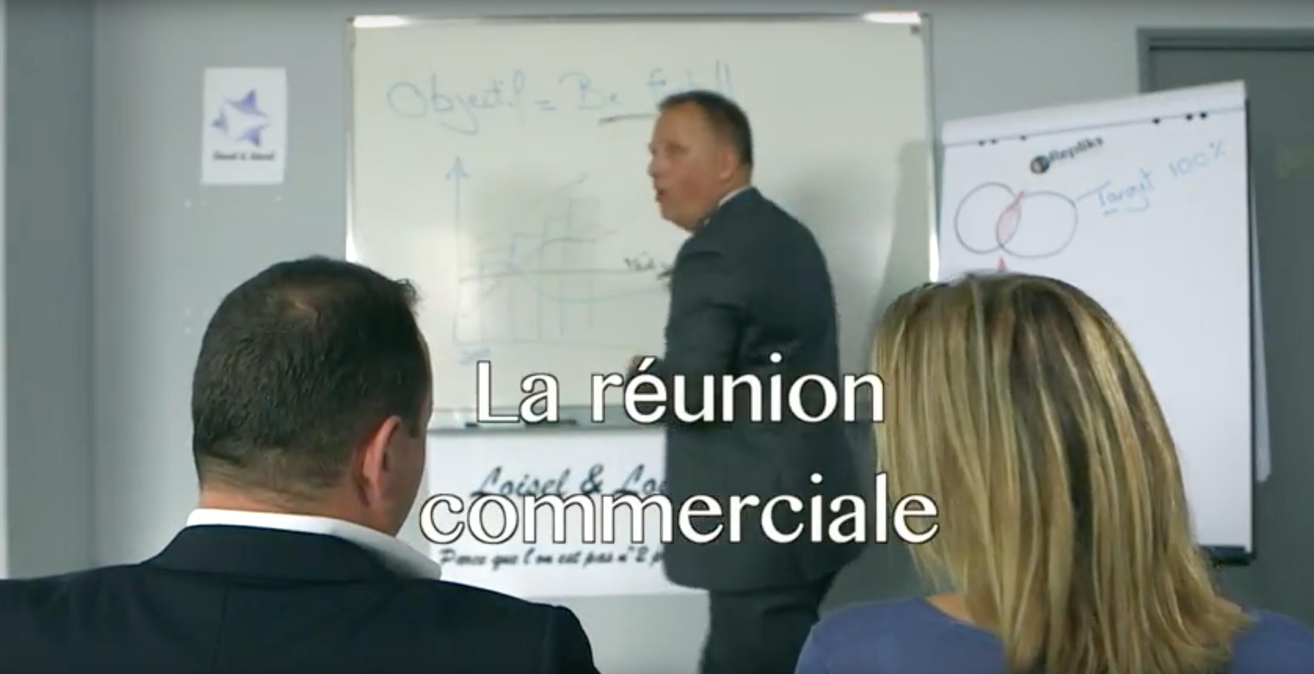 Le manager et la réunion commerciale by Repliks