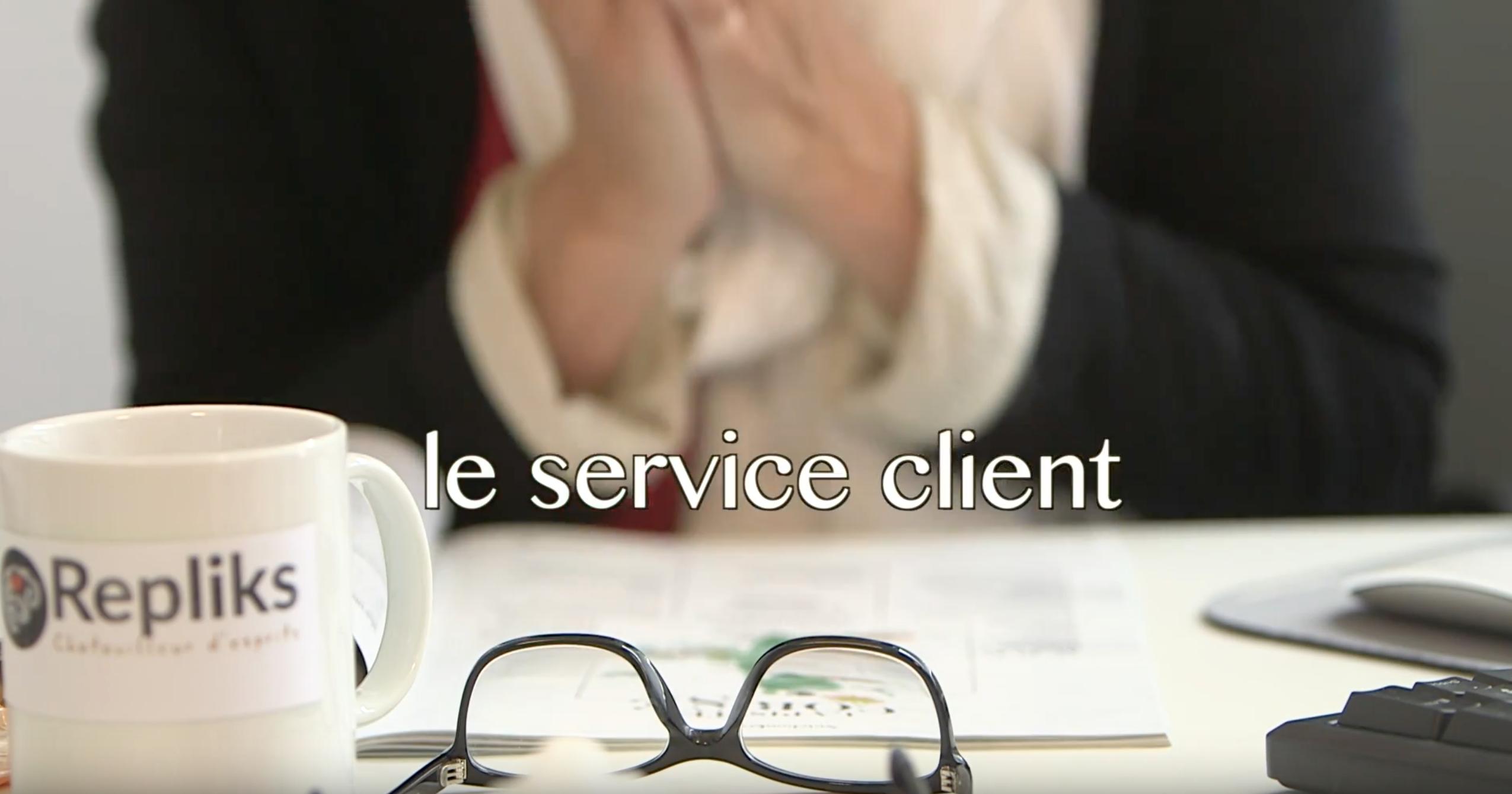 Le service client by Repliks