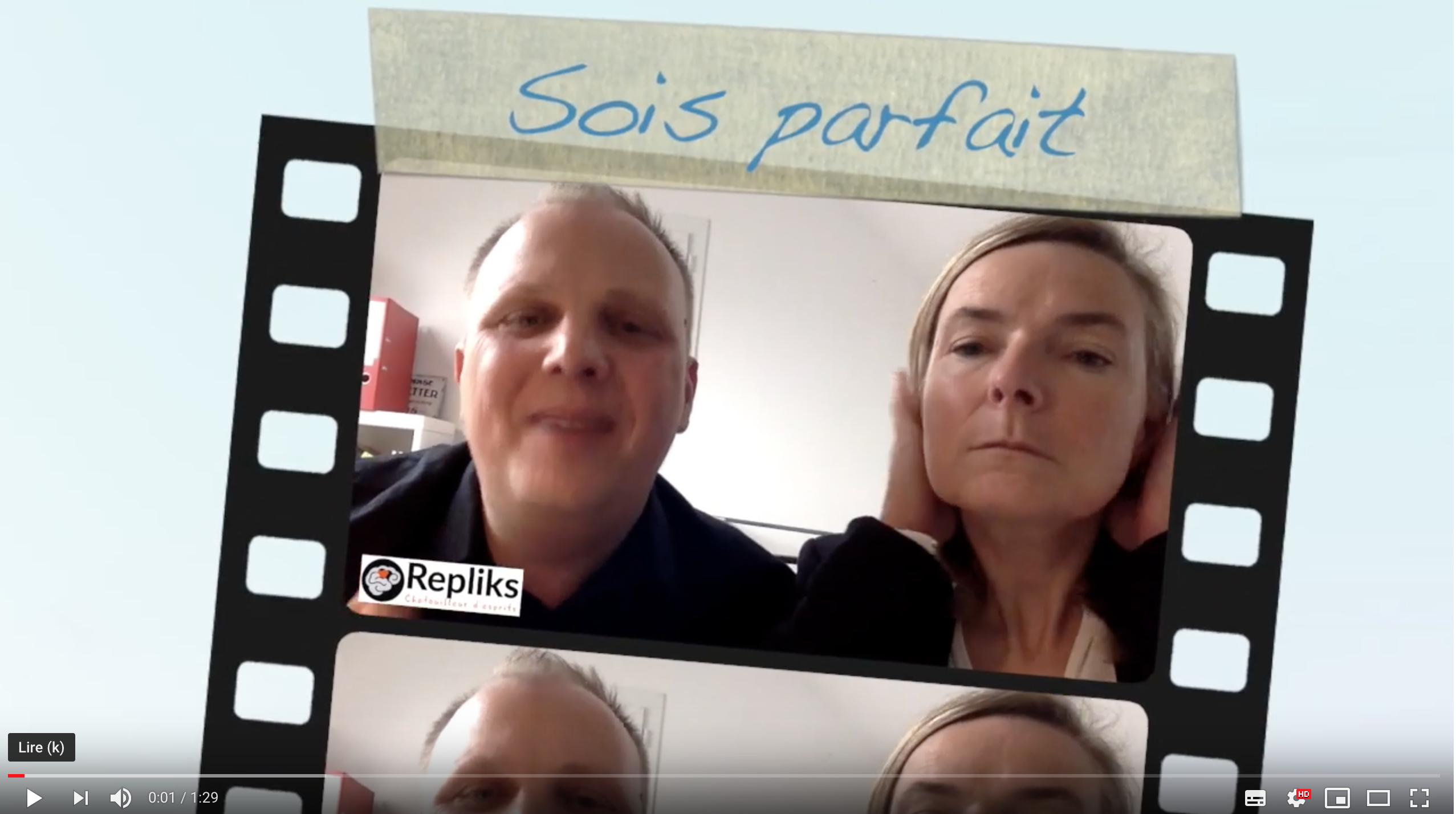 Sois parfait !! by Repliks