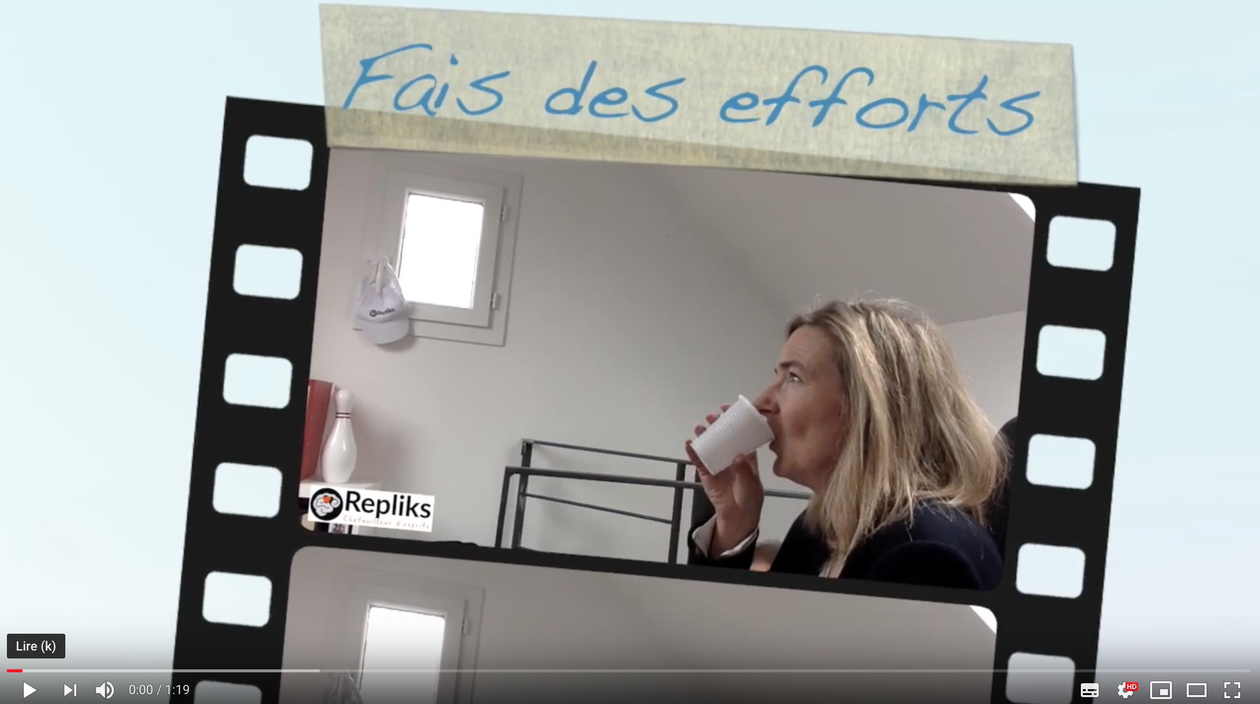 Fais des efforts !! by Repliks