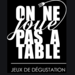 on ne joue pas a table logo